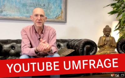 YouTube Umfrage